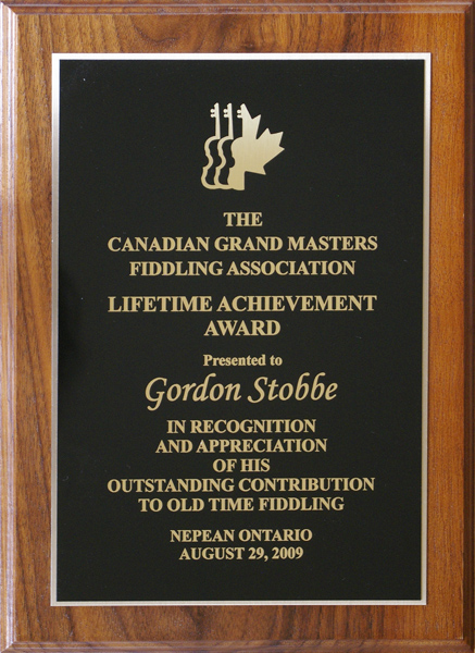 Canadian Grand Masters Lifetime Achievement Award