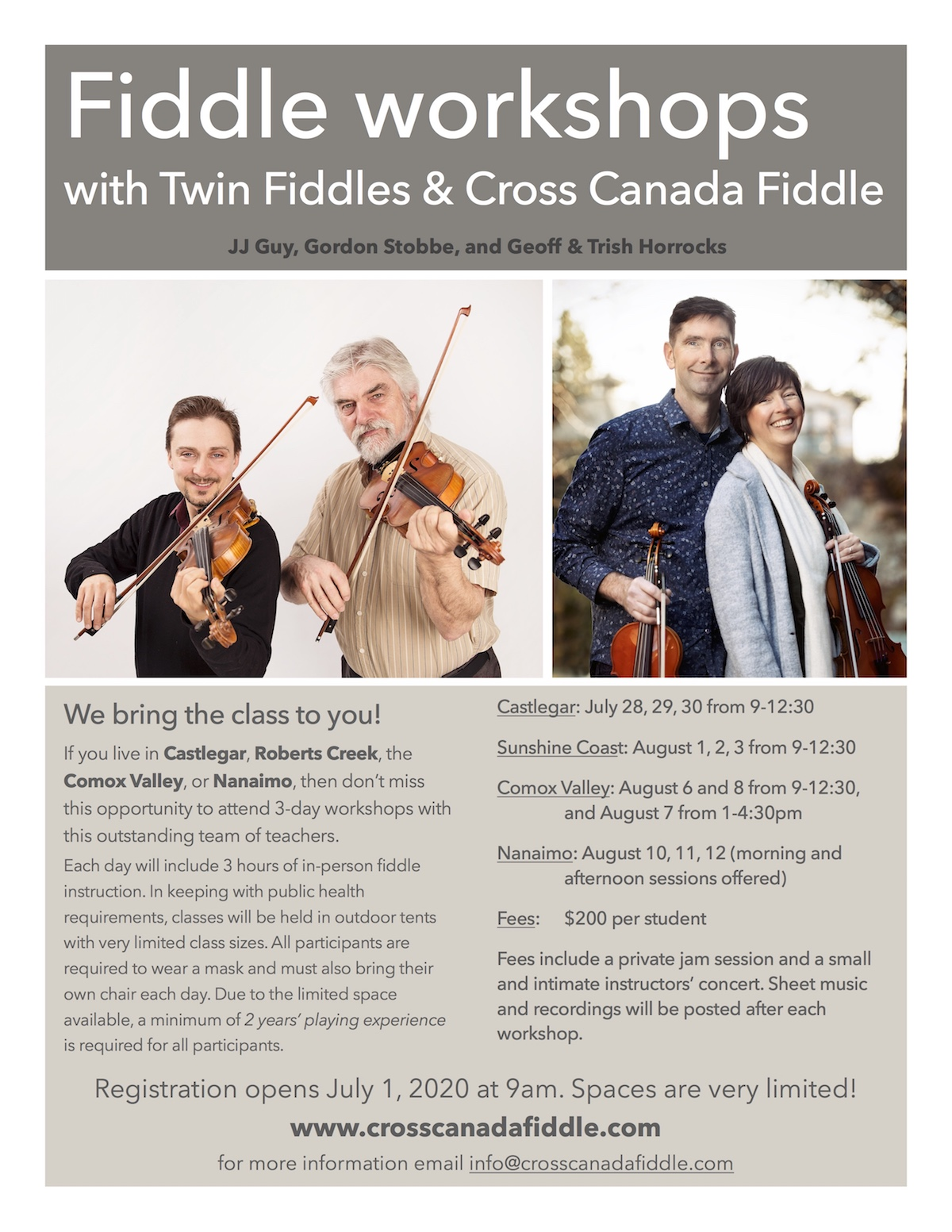 fiddle workshops
